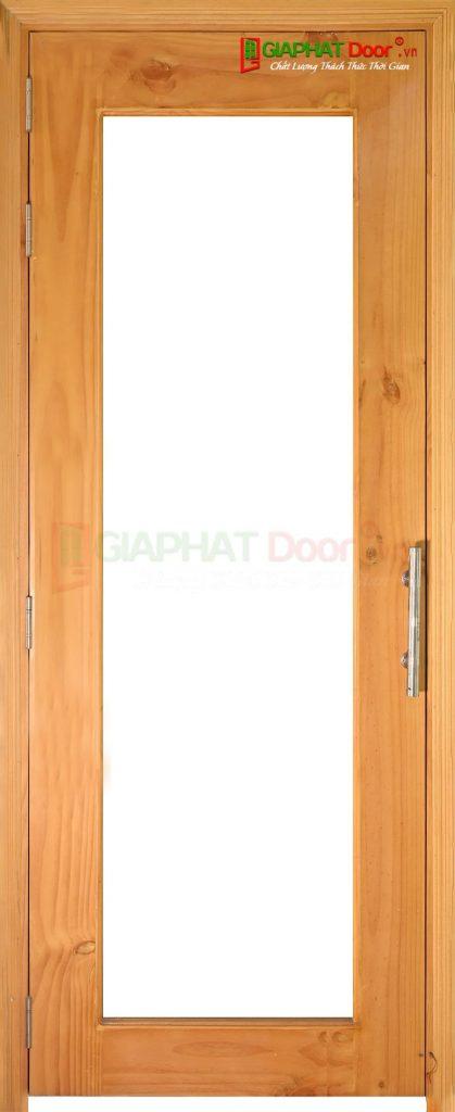 Cửa gỗ cao cấp MDF veneer o kinh