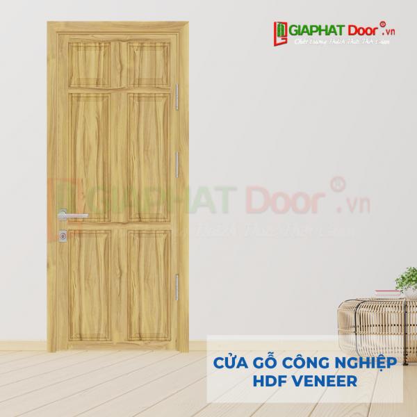 Cửa Gỗ Công Nghiệp HDF Veneer 6A soi (1)