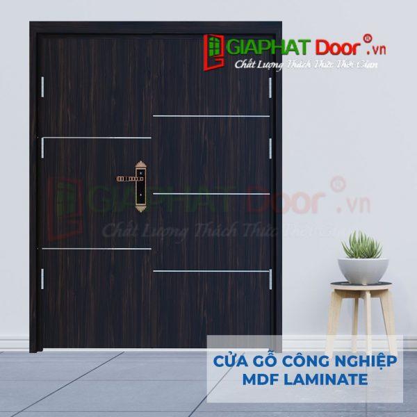 Cửa gỗ công nghiệp MDF Laminate 2P1R5