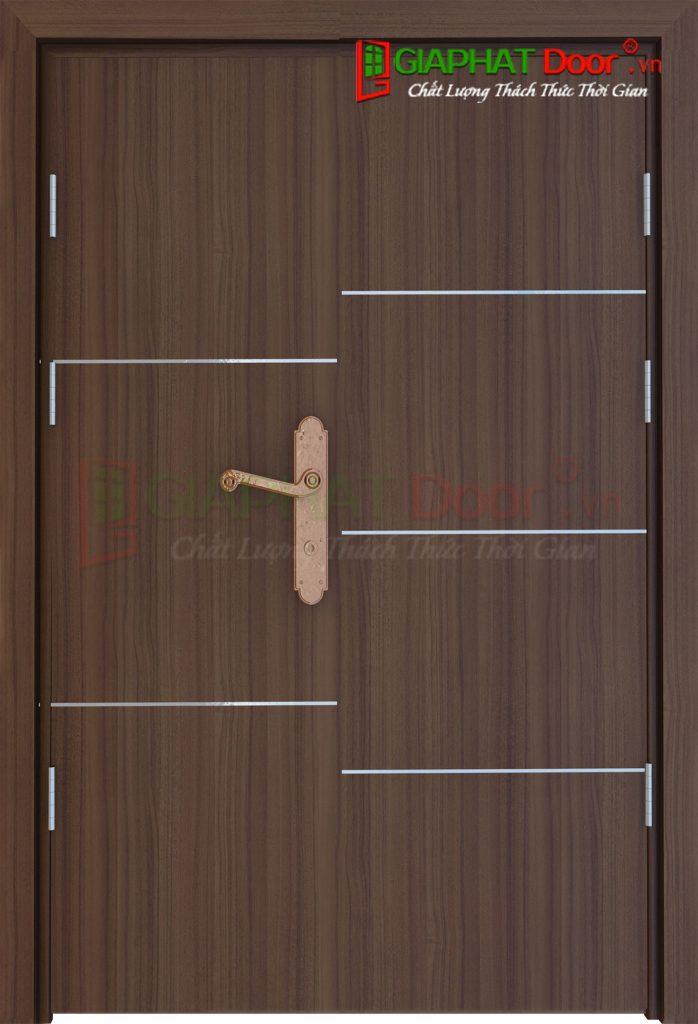 Cửa gỗ công nghiệp MDF Laminate 2P1R52