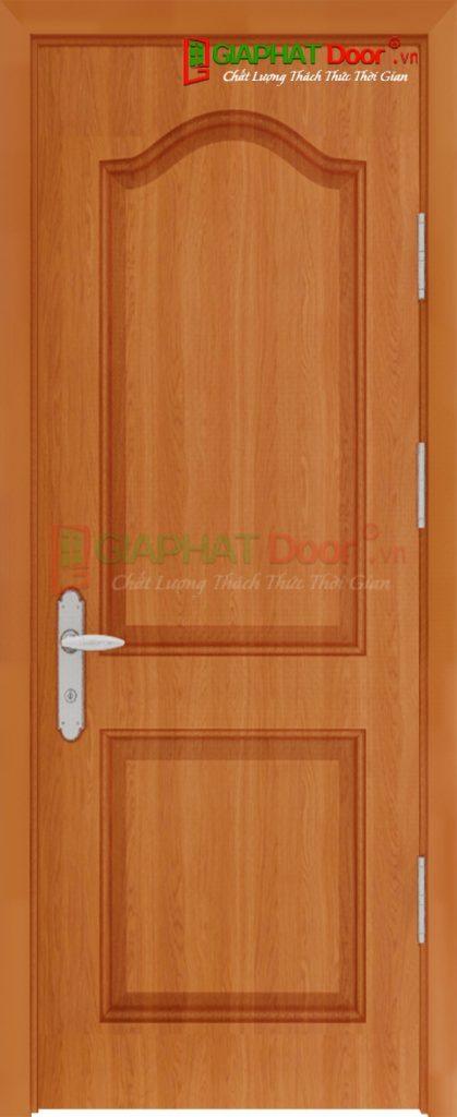 Cửa Gỗ Công Nghiệp HDF Veneer SGD 2A xoan dao (1)