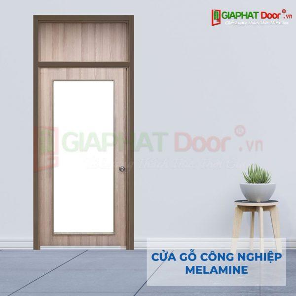 Cửa gỗ công nghiệp MDF Melamine P1G1 FIX