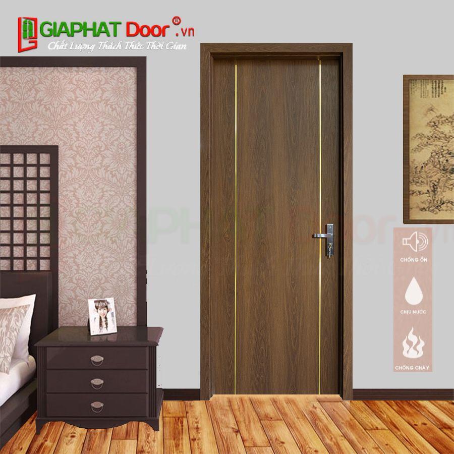 Cửa nhựa gỗ Composite cách âm SGD123-M05