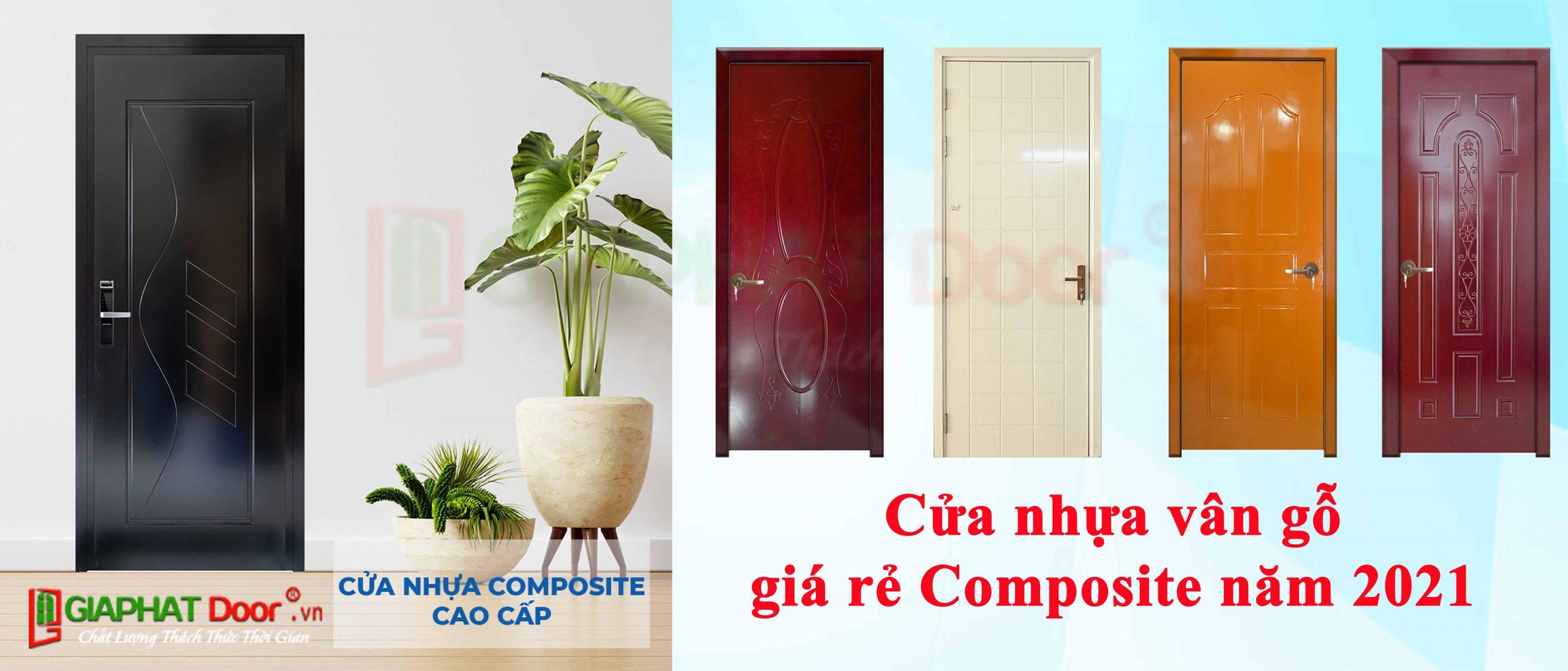 Cửa nhựa vân gỗ giá rẻ Composite dùng cho nhà vệ sinh