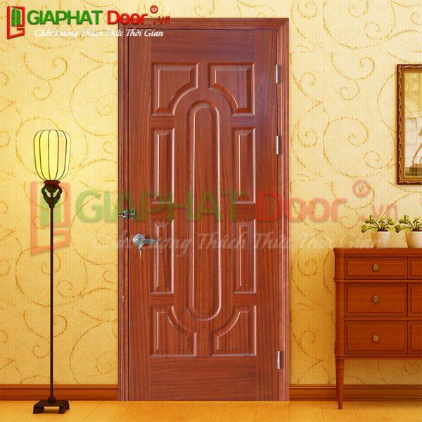 Cửa gỗ công nghiệp HDF Veneer GPD 018-SAPELE