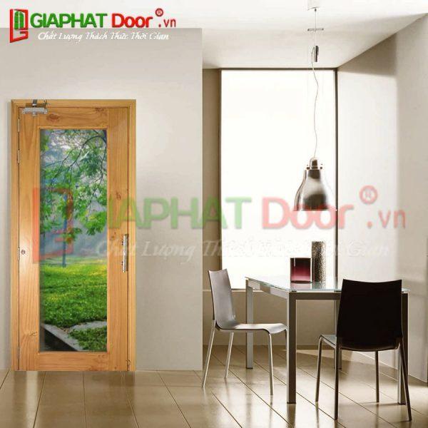Cửa gỗ HDF Veneer GPD 1BG-ASK