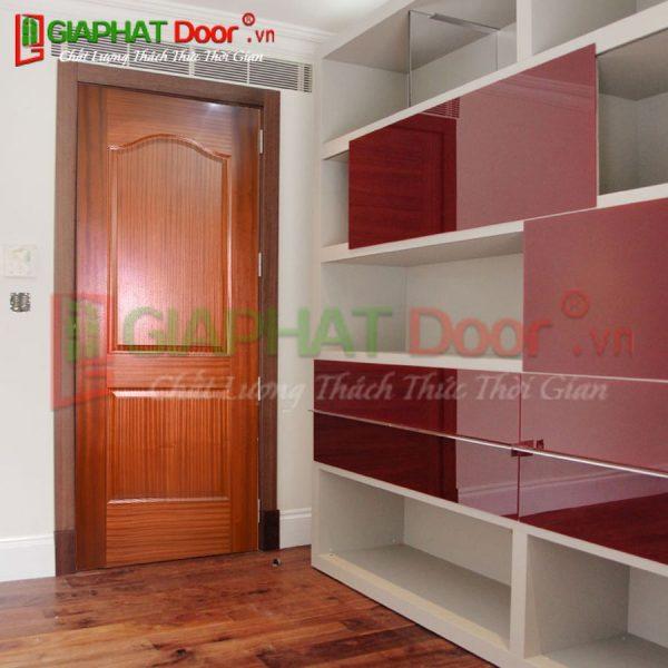 Cửa gỗ công nghiệp HDF Veneer GPD 2A-XOAN DAO