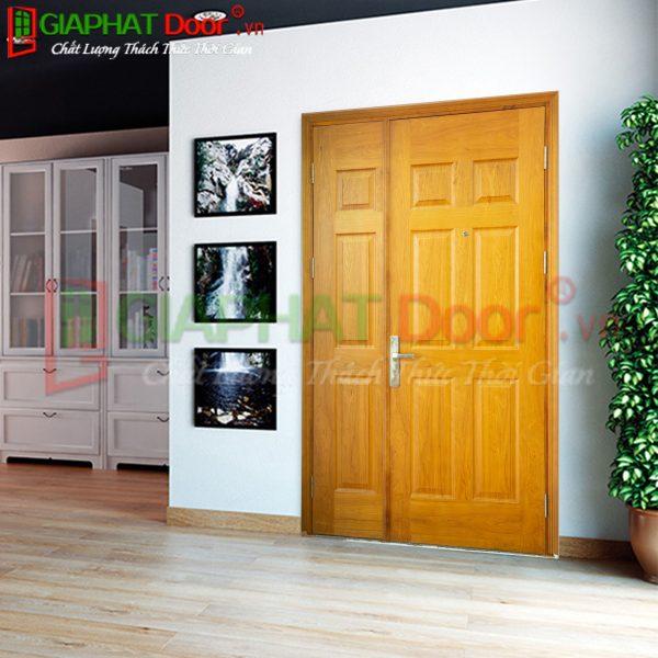 Cửa gỗ công nghiệp HDF Veneer GPD MBC.V9B-ASK