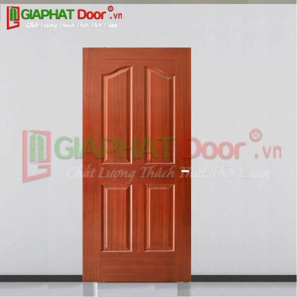 Cửa gỗ công nghiệp HDF Veneer GPD V1P2A-SAPELE