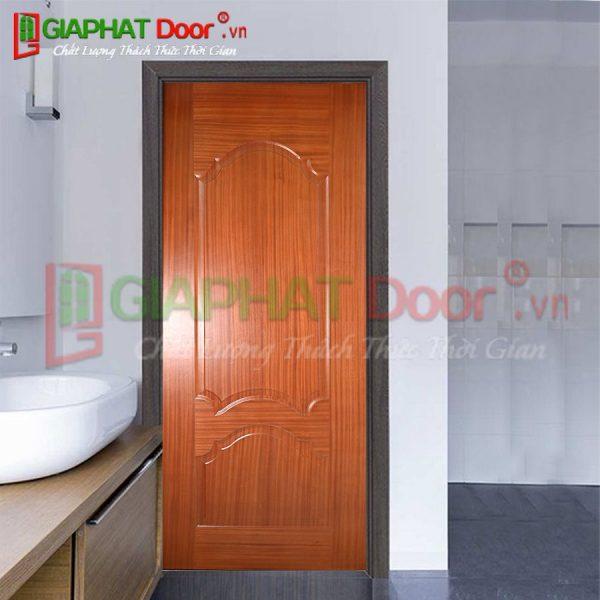 Cửa gỗ công nghiệp HDF Veneer GPD V2A-SAPELE