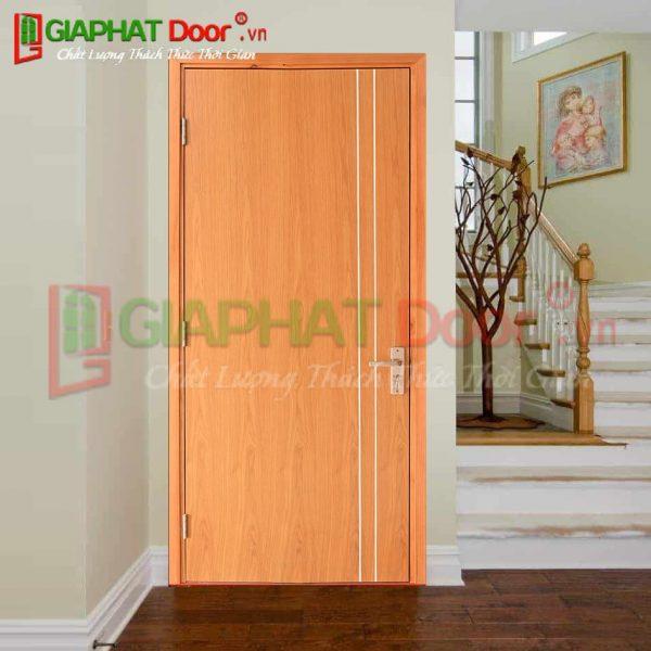 Cửa gỗ công nghiệp HDF Veneer GPD VP1R2-OAK