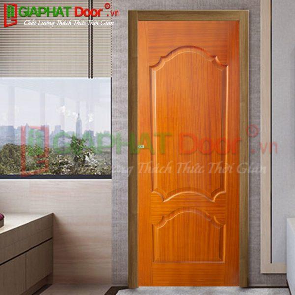 Cửa gỗ công nghiệp HDF Veneer GPD VP2B-XOAN DAO
