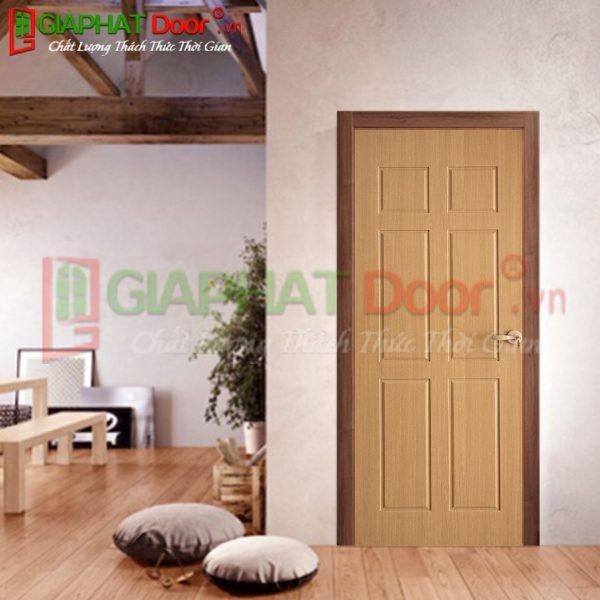 Cửa gỗ công nghiệp HDF Veneer GPD VP6B-ASK