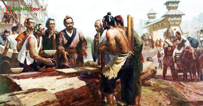 Hình minh họa Thước Lỗ Ban