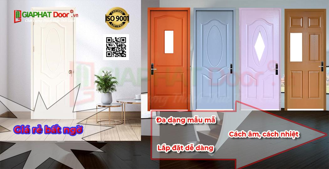 Một số mẫu cửa gỗ giá rẻ HDF