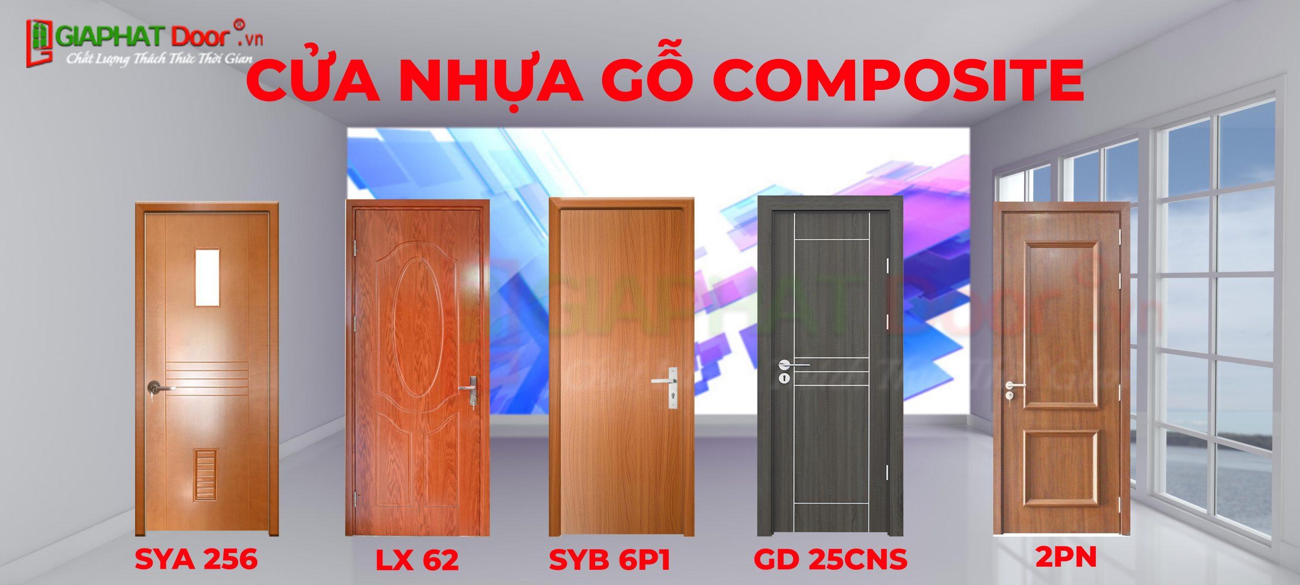 Một số mẫu cửa nhựa Composite đang rất được ưa chuộng hiện nay