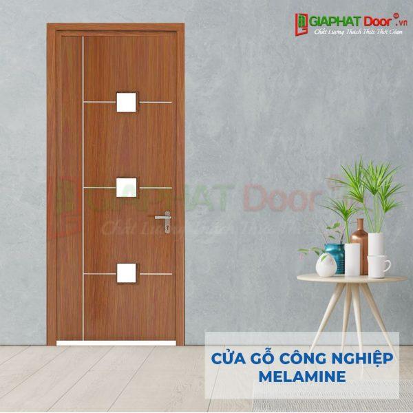 Cửa gỗ công nghiệp MDF Melamine Phoi canh