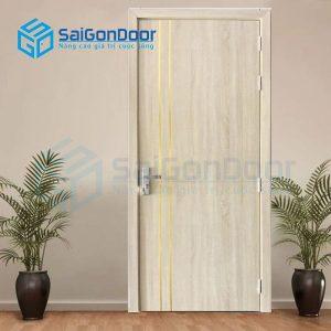 Cửa Nhựa Gỗ SungYu GPD SYB.P2R-B06, Cửa nhựa Composite, Cửa nhựa SungYu, Cửa nhựa gỗ, Cửa nhựa cao cấp, Cửa nhựa nhà ở, Cửa nhựa vân gỗ,