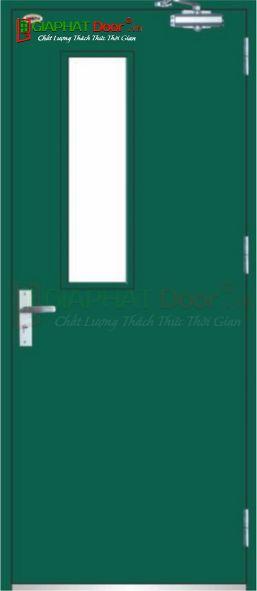 Cửa thép chống cháy TCC.P1G1-1