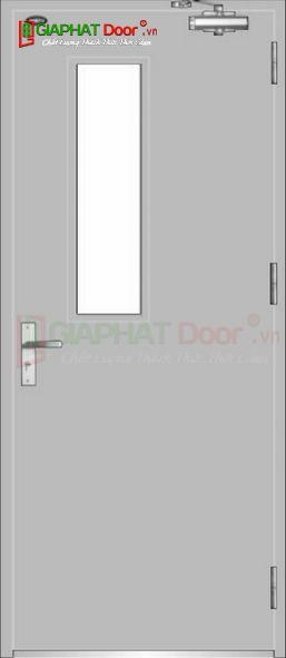 Cửa thép chống cháy TCC.P1G1-1-C1