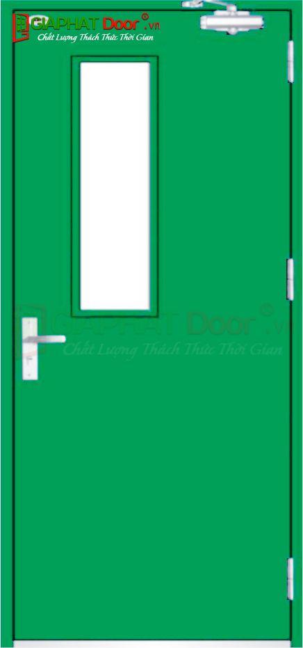 Cửa thép chống cháy TCC.P1G1-1-C6
