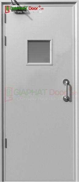 Cửa thép chống cháy TCC.P1G1-C1