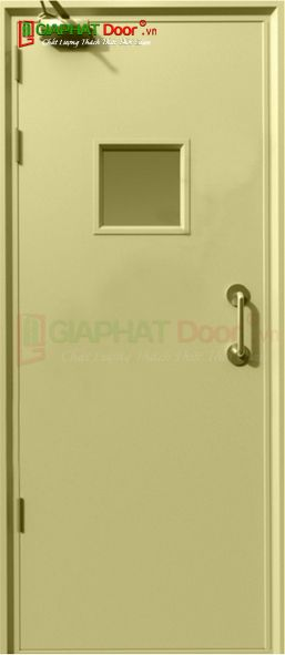 Cửa thép chống cháy TCC.P1G1-C2