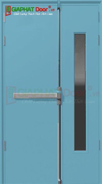 Cửa thép chống cháy TCC.P2G1-C7