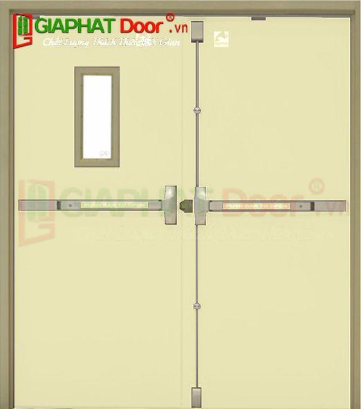 Cửa thép chống cháy TCC.P3-G1-C2