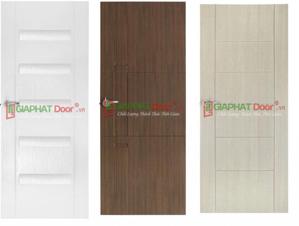 Mẫu cửa nhựa giả gỗ mới tại Gia Phát Door