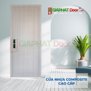 Cửa nhựa composite giả gỗ được thiết kế hiện đại, đa dạng, mang đến sự thoải mái chi khách hàng lựa chọn