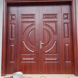 cửa thép vân gỗ SGD 20