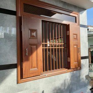 cửa thép vân gỗ SGD 23