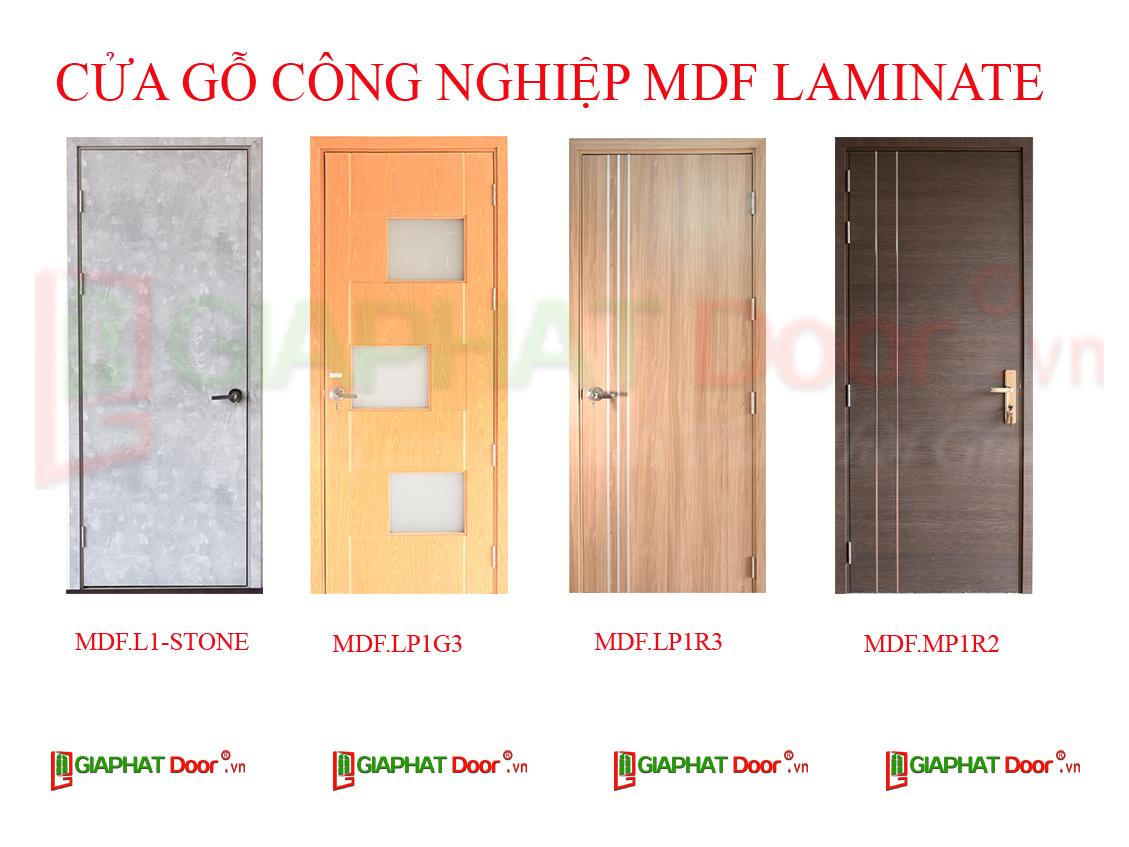 Cửa gỗ công nghiệp MDF Laminate tại GiaPhatDoor