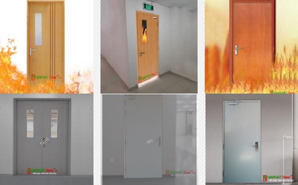 Cửa an toàn chống cháy đa dạng mẫu mã