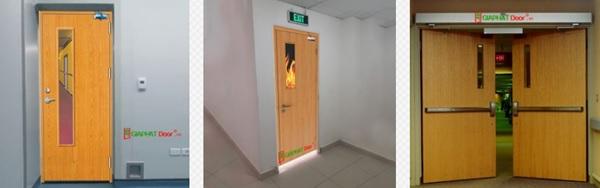 Kết cấu cửa chống cháy 1 cánh và 2 cánh đều rất chắc chắn, đảm bảo tuyệt đối về độ bền