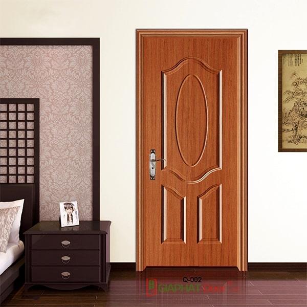 Mẫu cửa gỗ cao cấp HDF Veneer