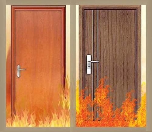 Cửa gỗ chống cháy có khả năng chống cháy trong thời gian nhất định