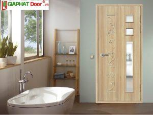 mẫu cửa nhựa nhà tắm đẹp rẻ kiểu dáng đơn giản
