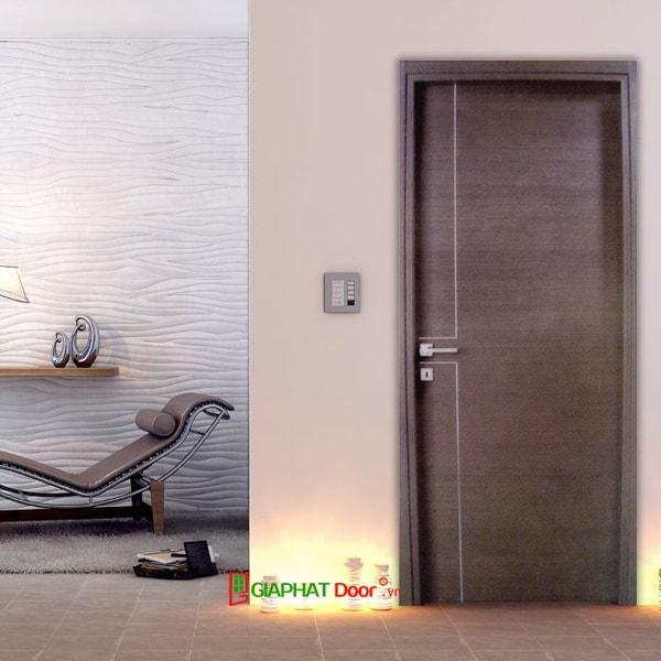 Các mẫu cửa gỗ phòng ngủ MDF Laminate đẹp 2020