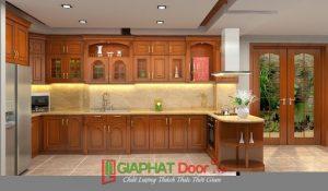 mẫu cửa gỗ tự nhiên cao cấp