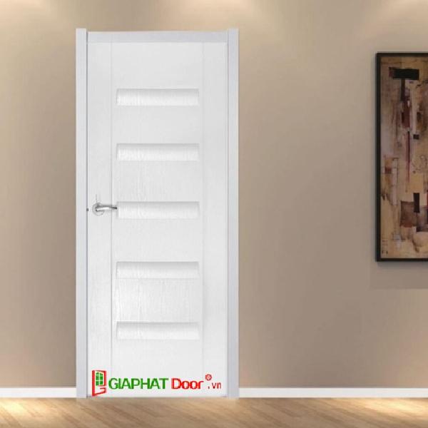 Mẫu cửa Composite màu trắng hiện đại giá rẻ