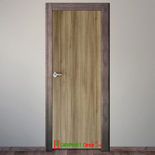 Cửa nhựa giả gỗ Composite nhà vệ sinh, nhà tắm