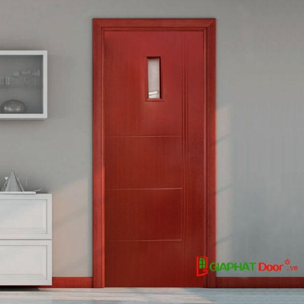 Mẫu cửa thiết kế đơn giản, màu sắc sang trọng