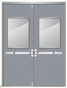 Tác dụng của cửa thép chống cháy TPHCM
