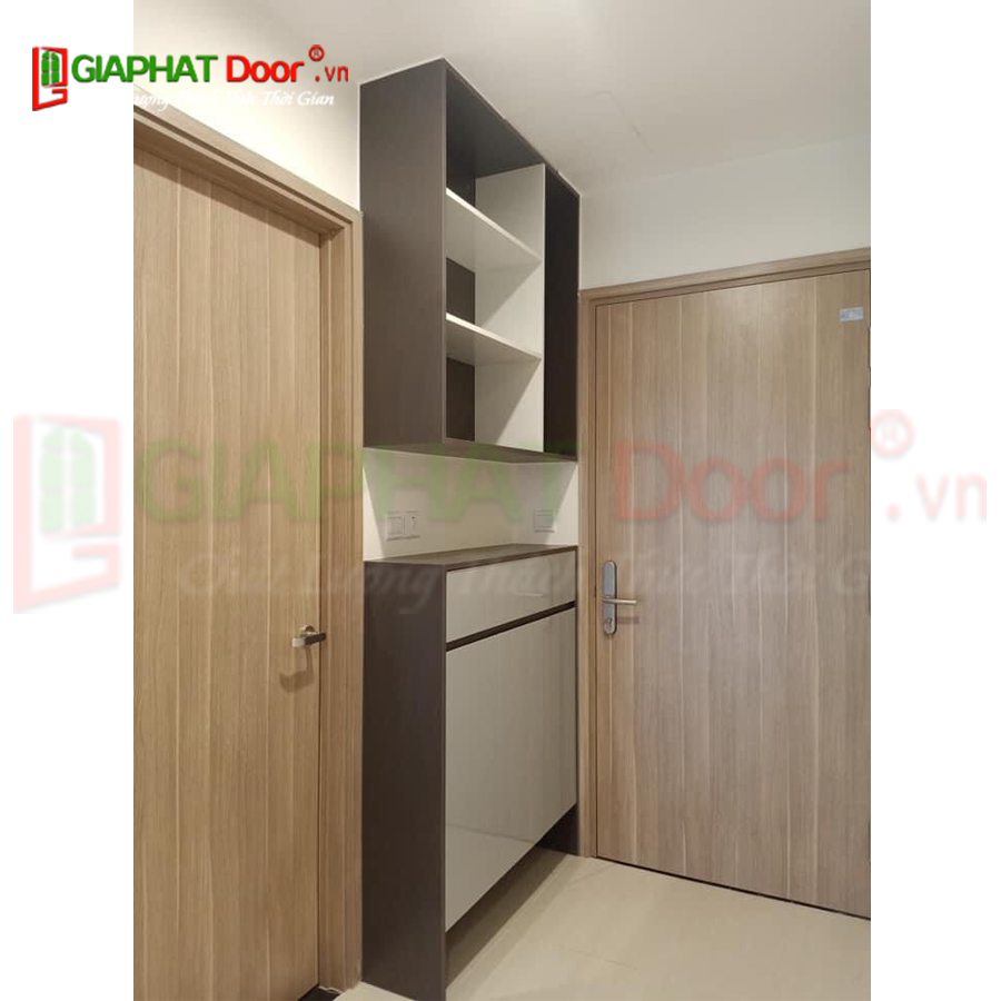 Nội thất và cửa dùng vật liệu MDF Laminate