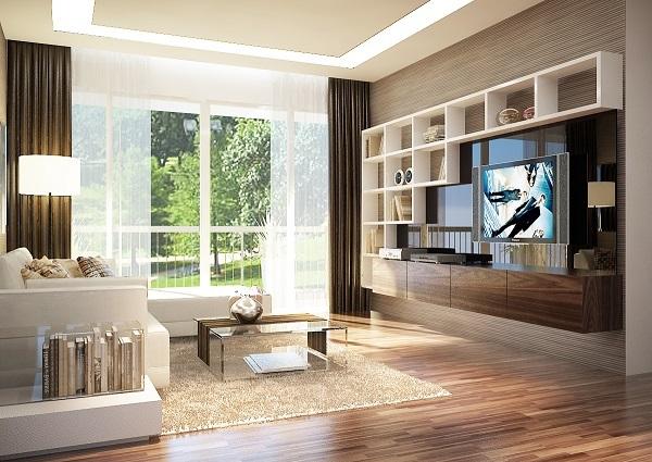 Phòng khách được bài trí đúng phong thủy giúp mang lại may mắn, tài lộc cho gia chủ và các thành viên trong gia đình