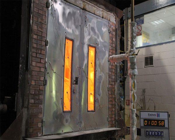 60 phút, 90 phút, 120 phút là thời gian chịu nhiệt tối đa của cửa khi xảy ra cháy nổ